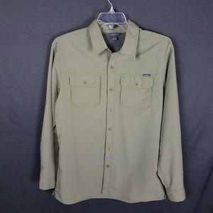 4/$10- Large eddie bauer mens shirt dry fit